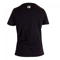 Gorilla Wear Sacramento V-Neck T-Shirt Black/Red-2