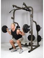 Hammer Fitness Solid XP Halterbank met 76 kg gewichten-3