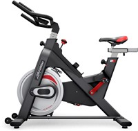 Life Fitness ICG IC1 Spinbike zijkant stuur links