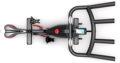 Life Fitness ICG IC1 Spinbike bovenkant
