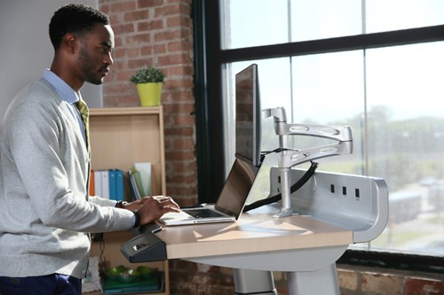 InMovement Treadmill Desk Man