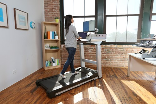 InMovement Treadmill Desk Woman
