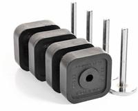 Ironmaster Quick-Lock Verstelbare Dumbbells Met Add-On Kit - 54,4 KG - Met Dumbbell Stand-3