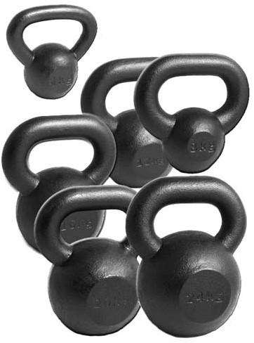 Body-Solid Premium Kettlebells Iron
