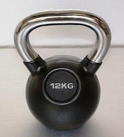 Kettlebell 12 kg rubber-1
