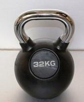 Kettlebell 32 kg rubber-1