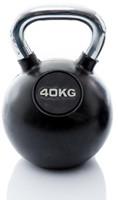 Kettlebell 40 kg rubber-3