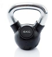Kettlebell 4kg rubber-3