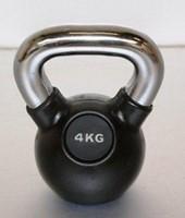 Kettlebell 4 kg rubber-1