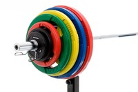 Rubber schijf gekleurd 1.25 kg (50 mm)-2