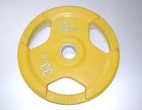 Rubber schijf gekleurd 15 kg (50 mm)-1
