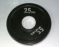 Rubber schijf gekleurd 2.5 kg (50 mm)-1