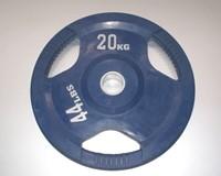 Rubber schijf gekleurd 20 kg (50 mm)-1