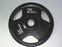 Rubber schijf gekleurd 25 kg (50 mm)-1