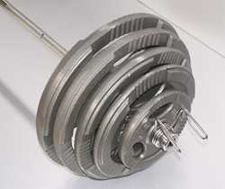 Gietijzer schijf 15 kg (50 mm)