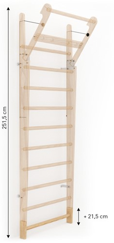 Nohrd WallBar Verhoging 21,5 cm - Eikenhout-2