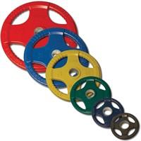 Body-Solid Olympische Halterset - Gekleurd Rubber