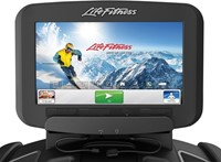 Life Fitness Platinum Discover SE Crosstrainer Arctic Silver - Demo-2