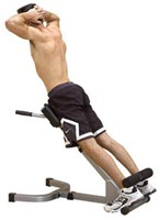 Body-Solid 45 graden Back Hyperextension-1