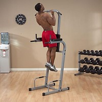 Body-Solid Vertical Knee Raise Chin Dip-3