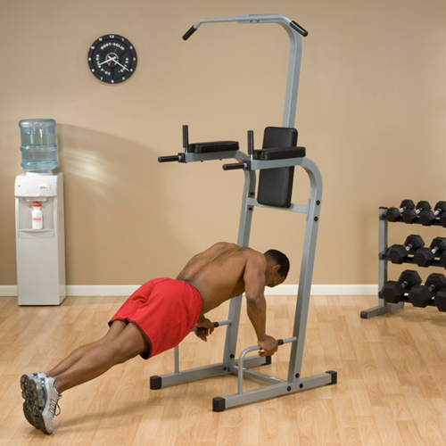 Body-Solid Vertical Knee Raise Chin Dip