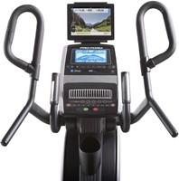 Proform HIIT trainer front met tablet