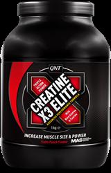 QNT Creatine X3 Elite - 1000g - Red Fruits