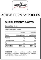 QNT - Easy Body Active Burn Ampoules (L-carnitine 2000mg) - 20 ampullen-2