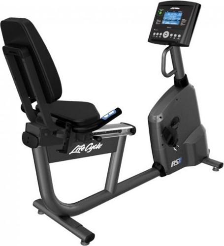 Life Fitness RS1 GO Ligfiets - Gebruikt