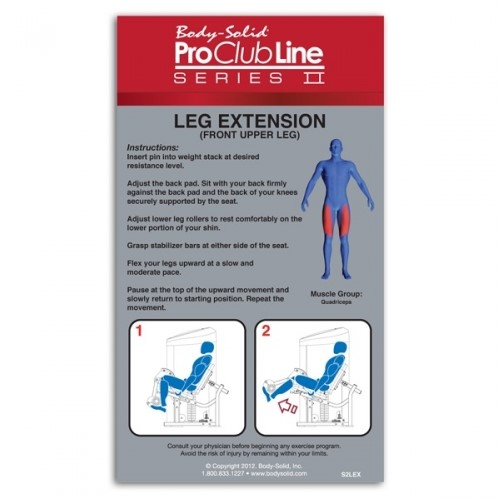 Body-Solid (PCL Series II) Leg Extension