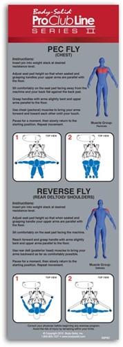 Body-Solid (PCL Series II) Pec Fly & Rear Delt