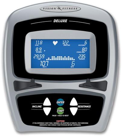 Vision Fitness S7100 HRT Crosstrainer-2