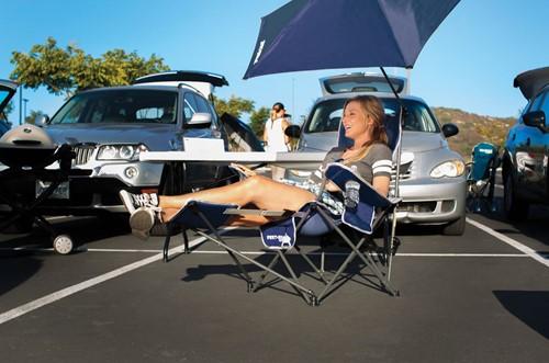 Sport-Brella Recliner Chair Blue