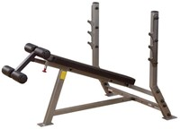 Body-Solid Pro Club Line Decline Olympic Bench-1