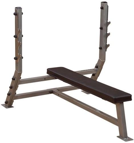 Body Solid Olympic Flat Bench Halterbank-2