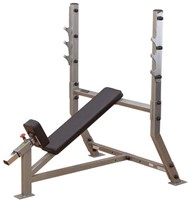 Body-Solid Pro Club Line Incline Olympische Halterbank-1