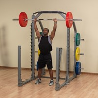 Body-Solid Pro Club Line SMR1000 Multi Squat Rack-2