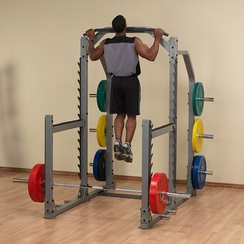 Body-Solid Pro Club Line SMR1000 Multi Squat Rack-3
