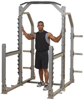 Body-Solid Pro Club Line SMR1000 Multi Squat Rack-1