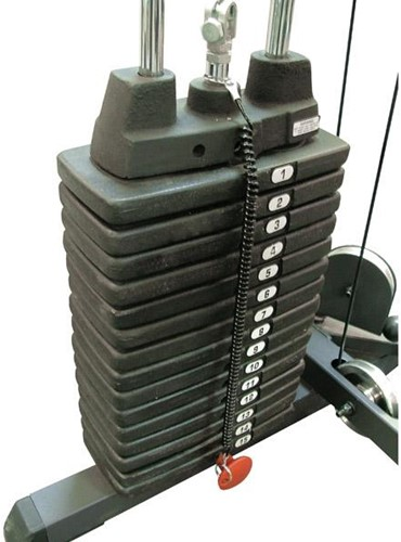 Body-Solid (Powerline) 75 KG Gewichtstapel