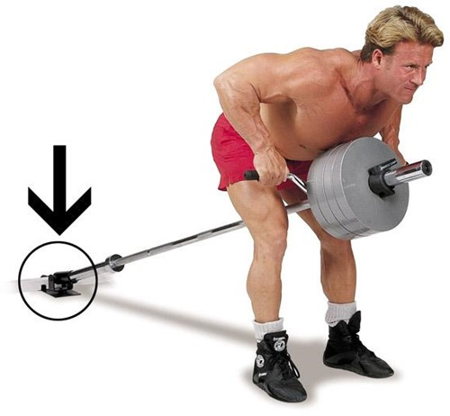 Body-Solid T-Bar Row Platform