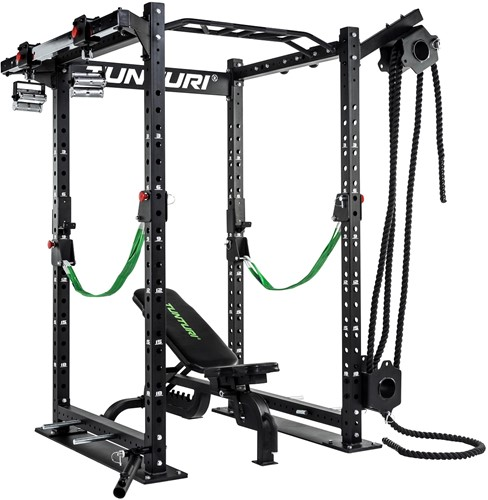 Tunturi RC20 Cross Fit Rack Rope Trainer 5