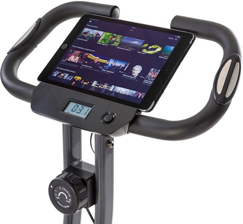 Tunturi cardio fit B25 x-bike folding bike tablet 2