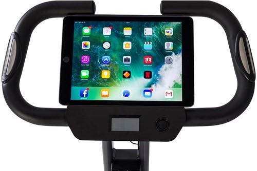 Tunturi cardio fit B25 x-bike folding bike tablet 3