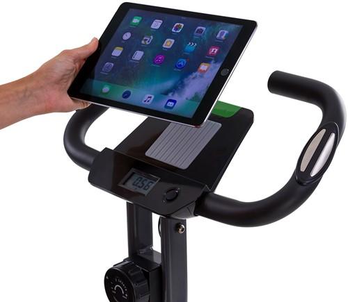 Tunturi cardio fit B25 x-bike folding bike tablet