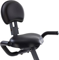 Tunturi cardio fit B25 x-bike folding bike zitting detail