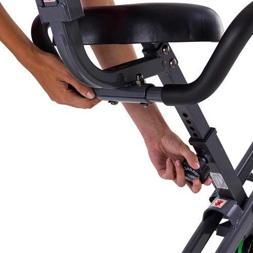 Tunturi cardio fit B25 x-bike folding bike zitting verstellen
