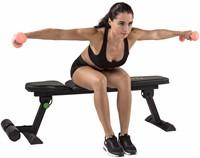 Tunturi fb80 flat bench trainingsbank 3