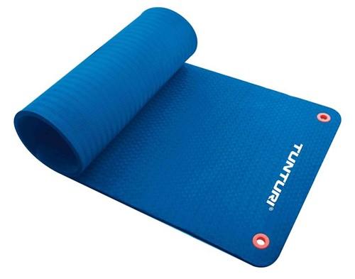 Tunturi Fitnessmat Pro 140 x 60 cm Blauw