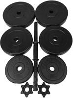 Tunturi Vinyl Dumbbellset 15 kg